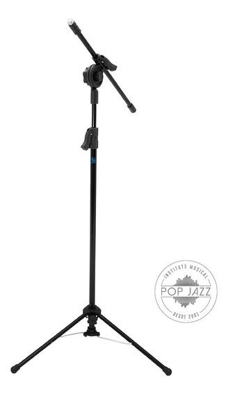 Pedestal Girafa Para Microfone Visão Musical Pe-2 Regulavel