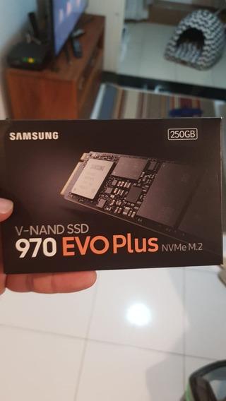 Ssd M.2 Samsung 250gb M2 970 Evo Plus Nvme 3500/3300mbps