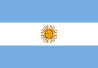 Bandera Argentina 1mtr X 1.5mtrs Poliester Estampado