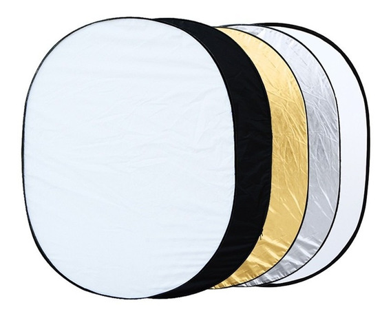 Rebatedor Oval 5 Em 1 150x200cm 5x1 150x200 Cm Case