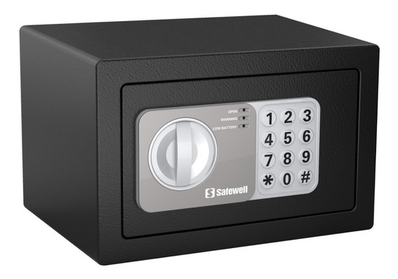 Cofre Eletrônico Safewell 15ef Modelo 2018 4 Litros 2.3 Kg