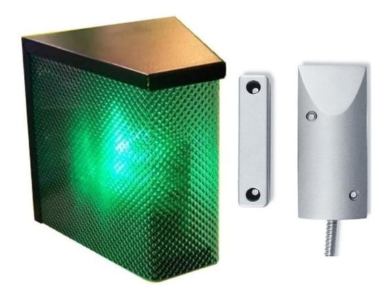 Kit Garage Semaforo Y Sensor Blindado Para Porton Automatizado