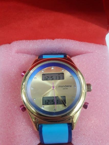 Relógio Feminino 99120lpmvdh1 Rosa M - Mondaine + Nf (novo)