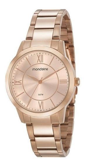 Relógio Mondaine Feminino Rosé 53698lpmgre3 Com Garantia