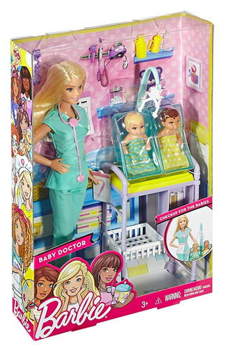 Hecho de frio Entre  Barbie Doctora De 2 Bebés | Mercado Libre
