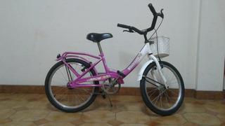 Bicicleta Bassano - Niña - Rodado 20 - Usada
