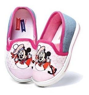 Tênis Infantil- Minnie Baby- Original Disney + Brinde