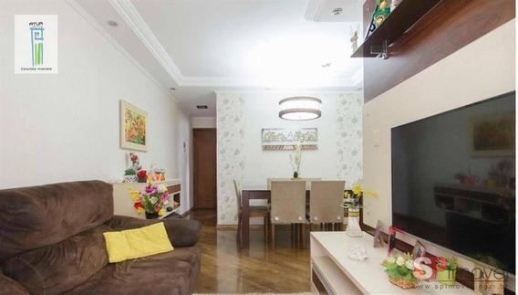 Apartamento Com 2 Dormitórios À Venda, 56 M² Por R$ 372.000 - Vila Guilherme - São Paulo/sp - Ap0730