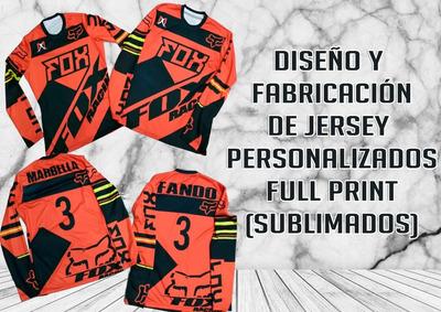 Uniforme Personalizado Sublimado Pesca Fox Futbol Jersey
