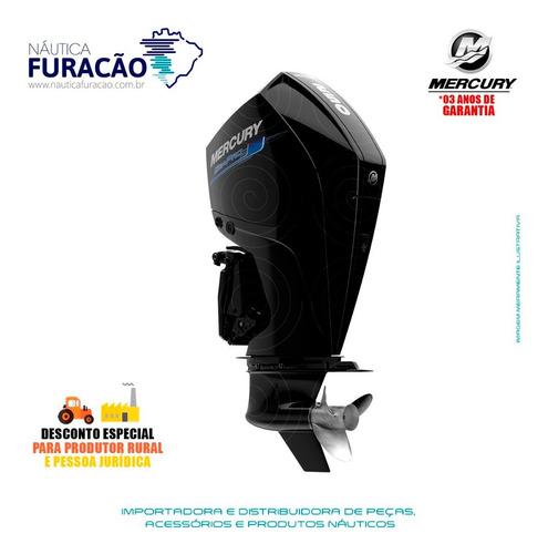 Motor De Popa Mercury 4 Tempos 250hp Xl V8 Seapro Mec Preto