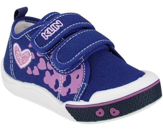 Tênis Menina Infantil Klin Toy Anatômico 942142 Promoção