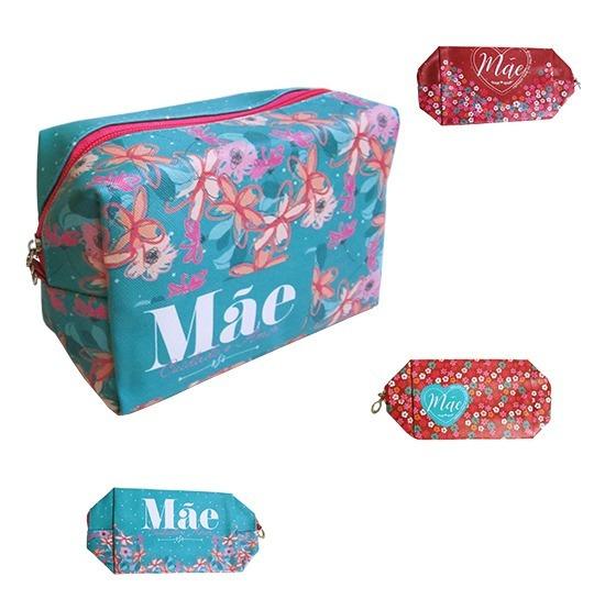 Necessaire Retangular Mae Colors 17x8x11***