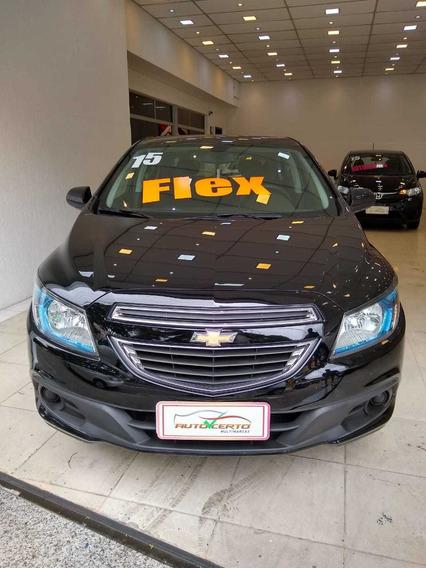 Chevrolet Onix Lt 1.4 Preto 2015