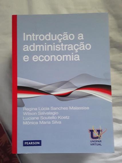 Livro Introdução A Administração E Economia - Regina Malassi