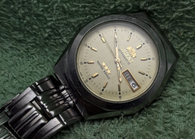 Relógio Orient Automático Máquina 469 Dourada