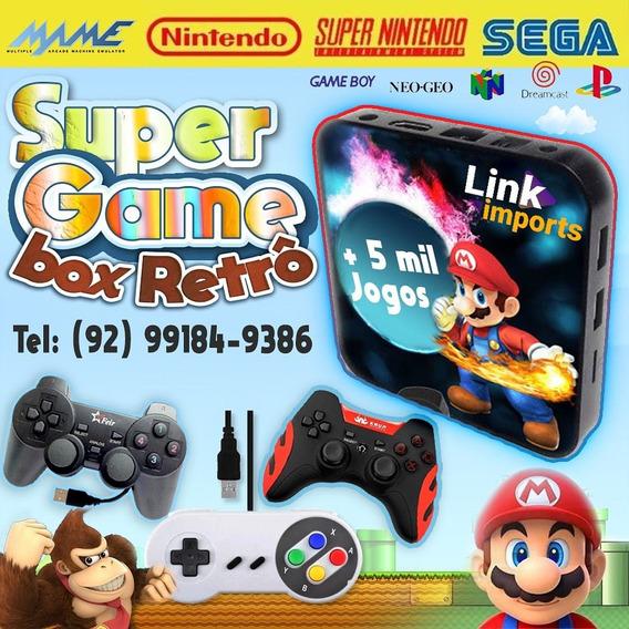 Vídeo Game Retrô - Super Game Box 5 Mil Jogos