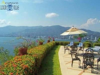 Casa En Guitarron Acapulco Espectacular Vista Bahia2823