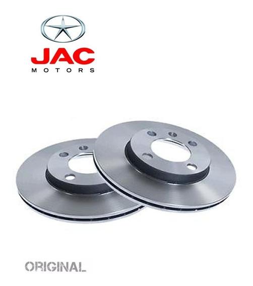 Par Disco De Freio Traseiro Jac Motors J5 J6 Todos