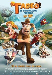 Poster Original Cine Tadeo Jones, El Explorador Perdido