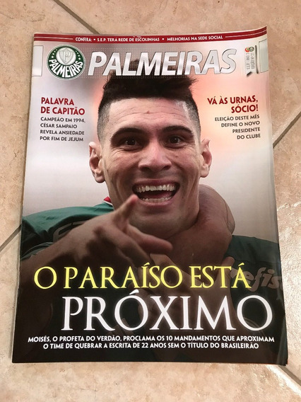 Revista Palmeiras 27 Moisés César Sampaio Róger Guedes