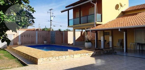 Linda Chácara Com 3 Dormitórios À Venda/locação, Terreno De 1000 M² - Recanto Feliz - Paulínia/sp - Ch0020