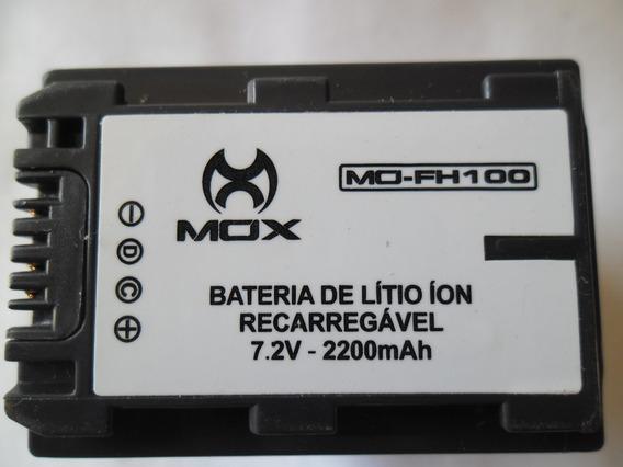 Bateria Para Camera Sony Np Fh100 Mox Novo