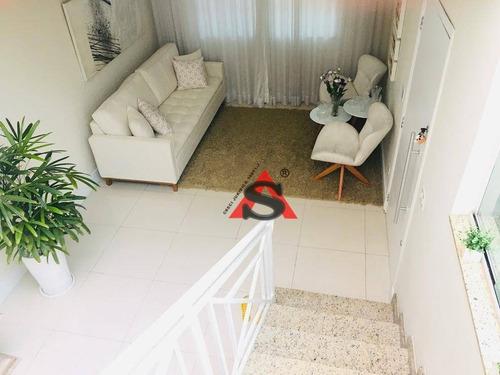 Sobrado Com 4 Dormitórios À Venda, 169 M² Por R$ 1.485.000,00 - Vila Dom Pedro I - São Paulo/sp - So4982