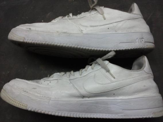 Zapatillas Nike Air Nº 42 - 43 - Cuero Blanco