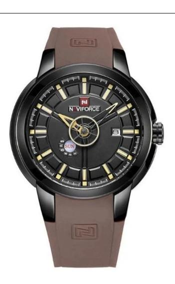 Relógio Naviforce 9107 + Brinde