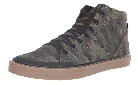 Zapatillas Volcom Hi Fi Shoe Dark Camo