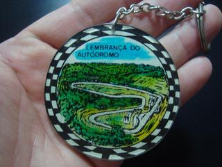 Chaveiro Antigo Autódromo De Cascavel Parana Anos 70 Coleção