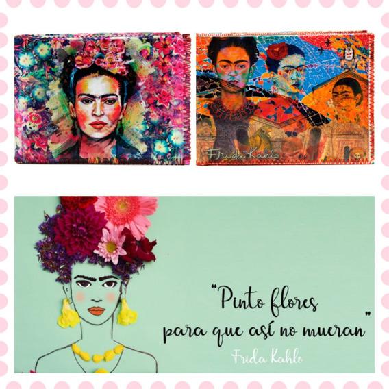 Billetera Frida Kahlo Mujer Pintora Arte