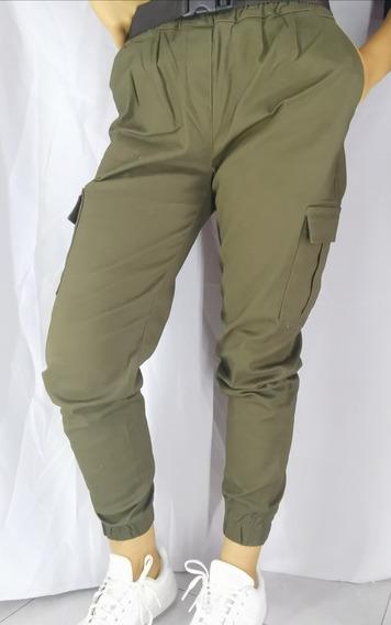 Pantalón Cargo Para Dama