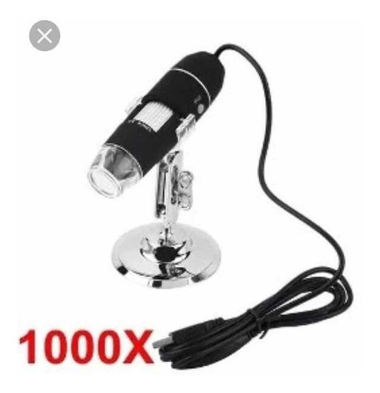 Microscópio Digital Usb Zoom 1000x Xtrad Xt-2036