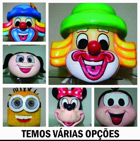 Galinha Pintadinha, Cabeça Personagem Vivo, Fantasia, Boneco