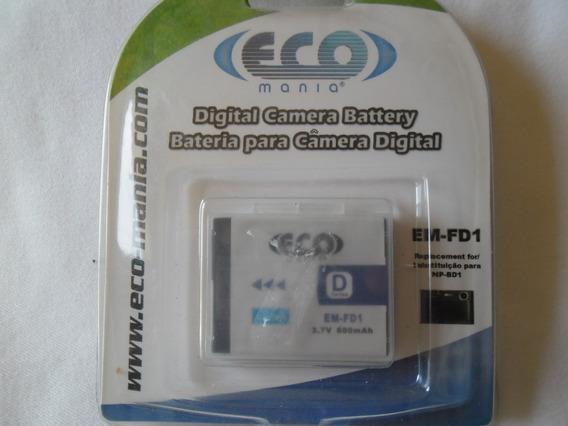 Bateria Recarregável Eco Mania Em-fd1 P/ Câmeras Sony