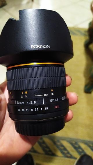 Lente Rokinon 14mm Canon