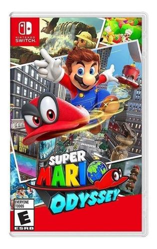 Imagen 1 de 4 de Super Mario Odyssey Standard Edition Nintendo Switch  Físico
