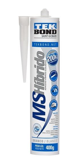 Cola Adesivo Ms Hibrido Branco 400g Tekbond