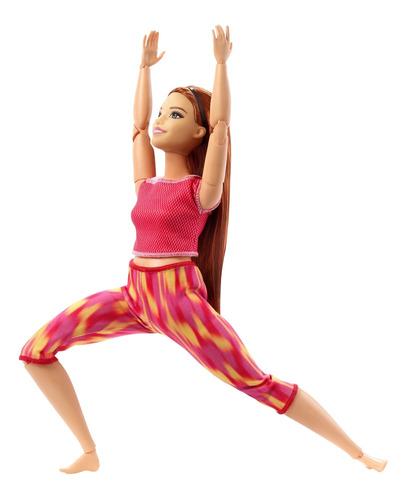 Imagen 1 de 7 de Barbie Fashionista, Muñeca Articulaciones Rojo