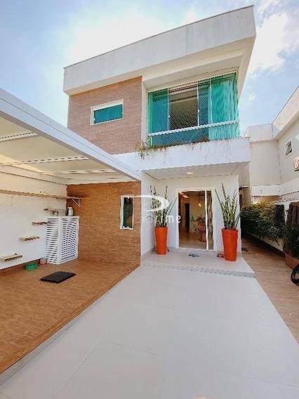 Casa Residencial À Venda, Camboinhas, Niterói. - Ca0434