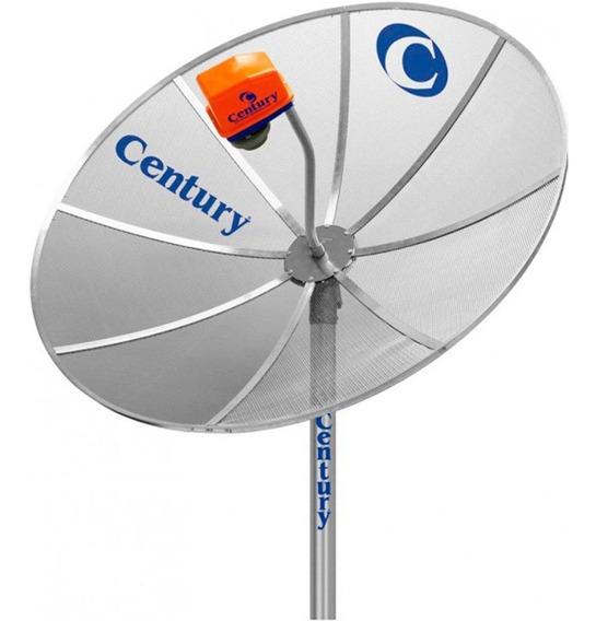 Antena Parabólica Century 1.5m Mono Ponto Baby