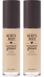 Burts Bees Goodness Glows Liquid Foundation Ivory 10 Onzas P