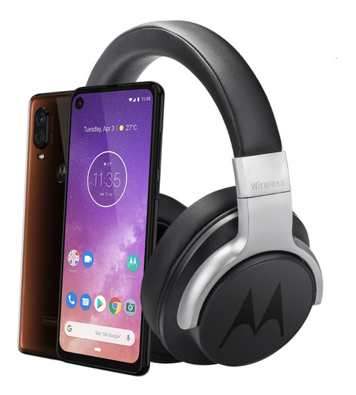 Celular Motorola Moto One Vision 4gb 128gb+ Regalo Audifonos