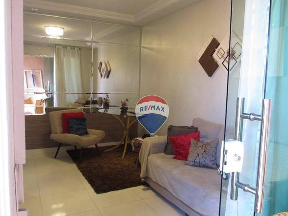 Casa Com 3 Dormitórios À Venda, 118 M² Por R$ 310.000 - Cambeba - Fortaleza/ce - Ca0030