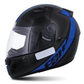 Capacete Moto Ebf E0x Spectro 58 Azul