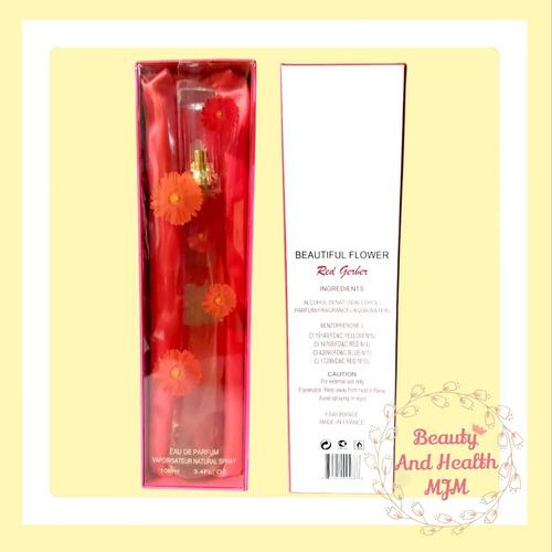 Perfume Beautiful Flower Red Gerber Francés 100ml