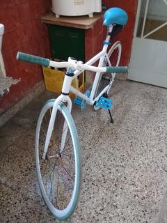 Bicicleta Fixie Rodado 28 Freno Contrapedal, Muy Buen Estado