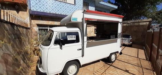Caminhonete Food Truck Montada - Pronta Para Trabalhar