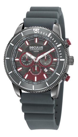 Relógio Seculus Masculino 23665gpsvsl1